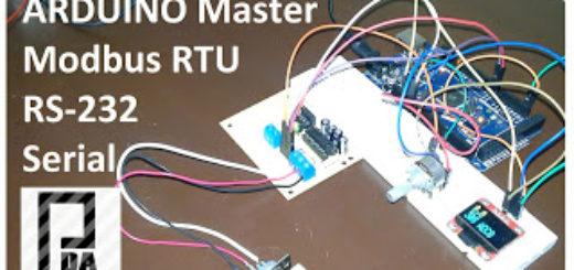 ArduinoMasterModbusRTU-RS232
