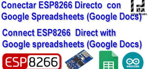 ESP8266Googlesheetdirect