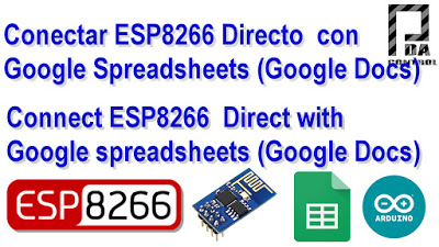 ESP8266 direct connection to Google Spreadsheets (Google Docs)