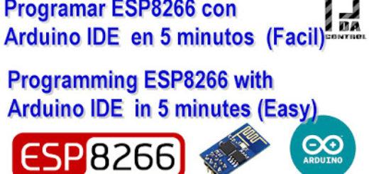 ProgramarES8266-ARDUINOIDE