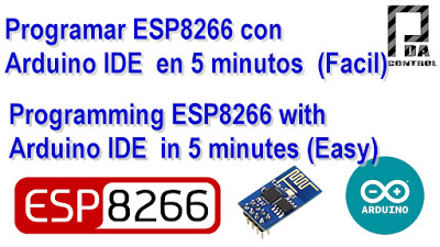 ESP8266 program with Arduino IDE in 5 minutes