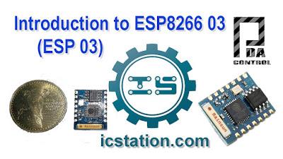 New ESP8266 03 ( ESP 03 )