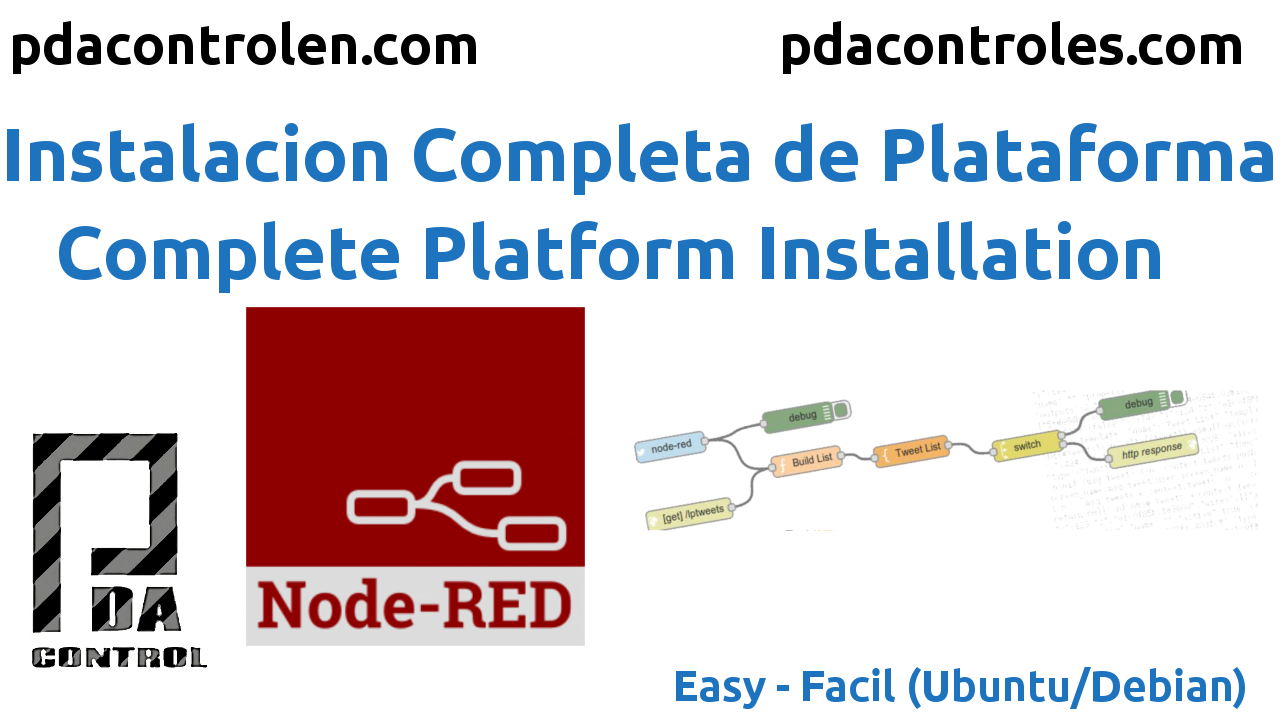 Installation  Node red Platform