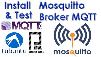 Installation Mosquitto Broker MQTT in lubuntu (Ubuntu) Linux