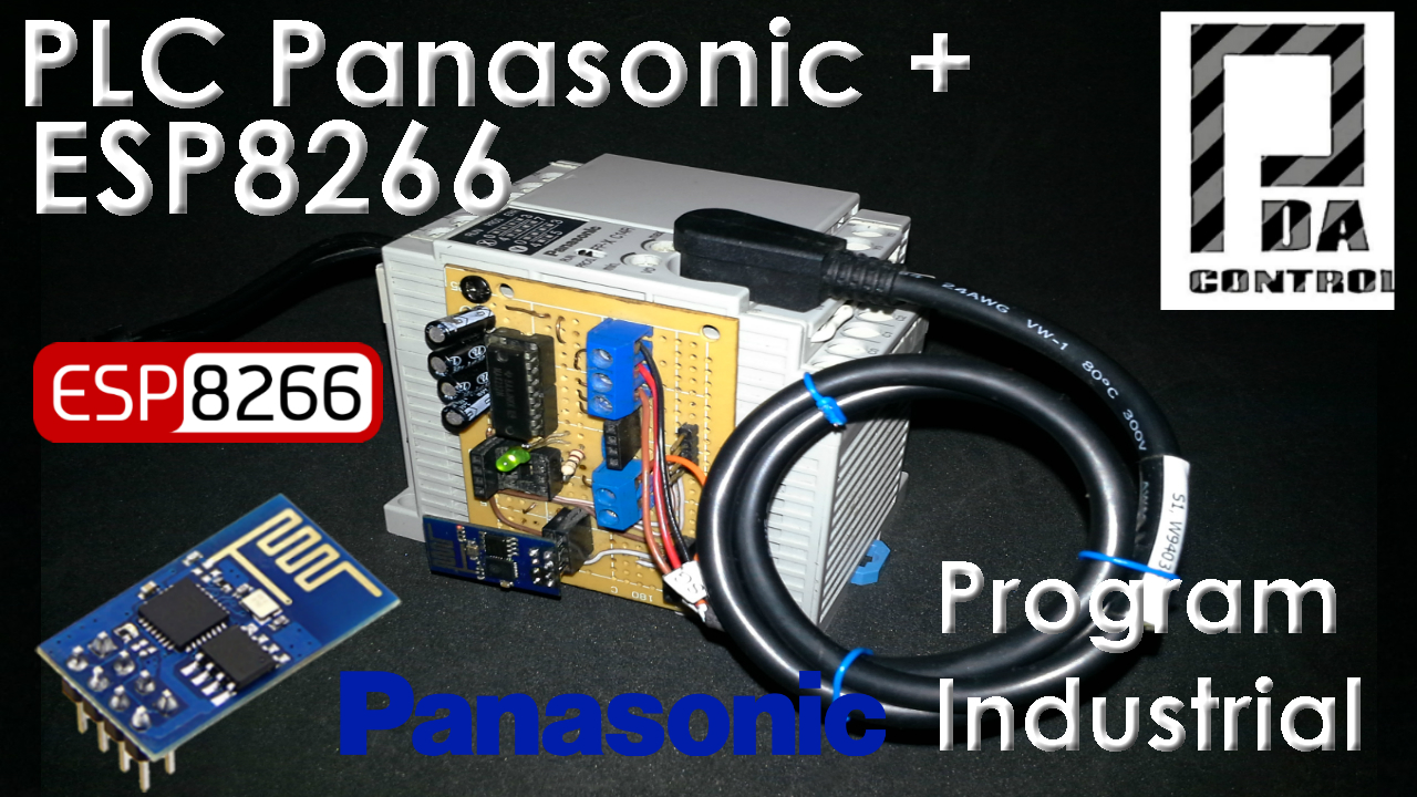 Programming Panasonic PLC Via WLAN with ESP8266
