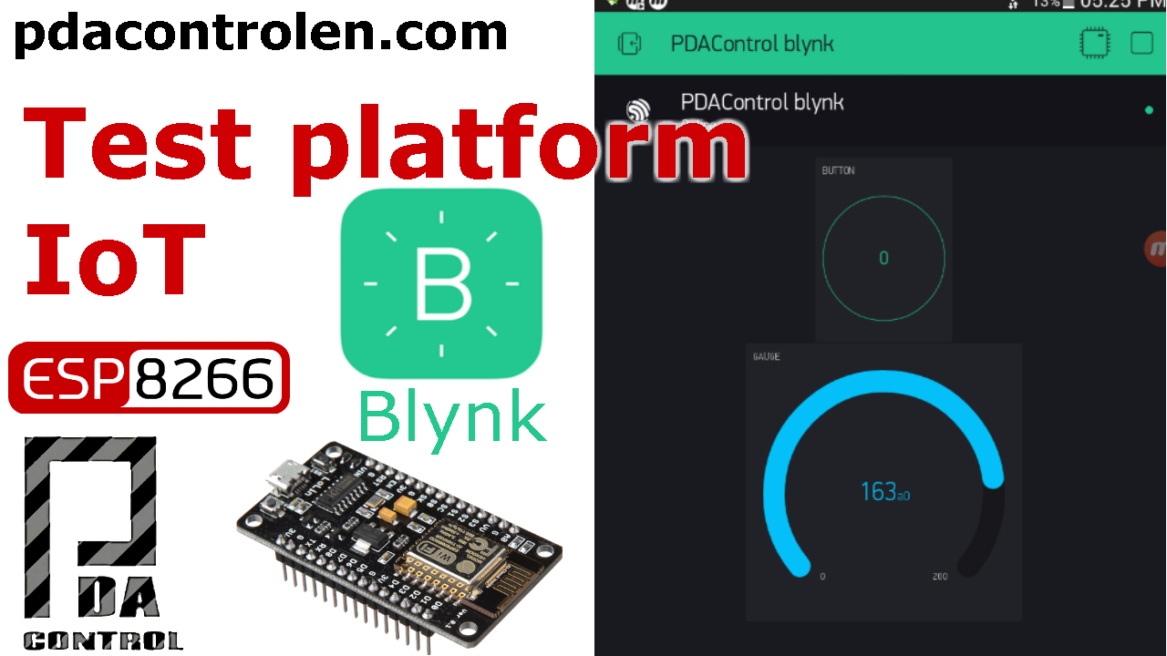 Introduction Platform IoT Blynk & ESP8266