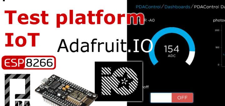 adafruit PDAControl ESP8266 PDAControles.com PDAControlen.com