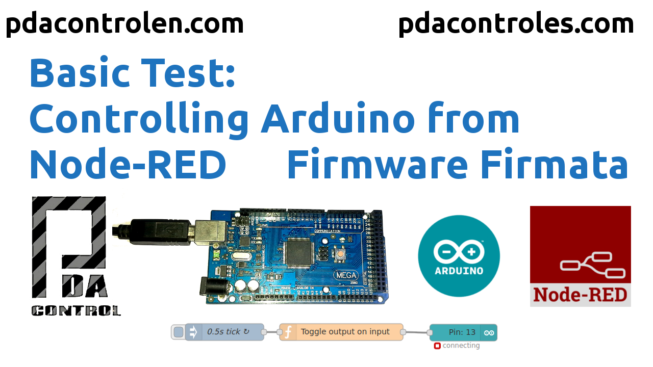 Controlling Arduino from Node-RED with Firmware Firmata