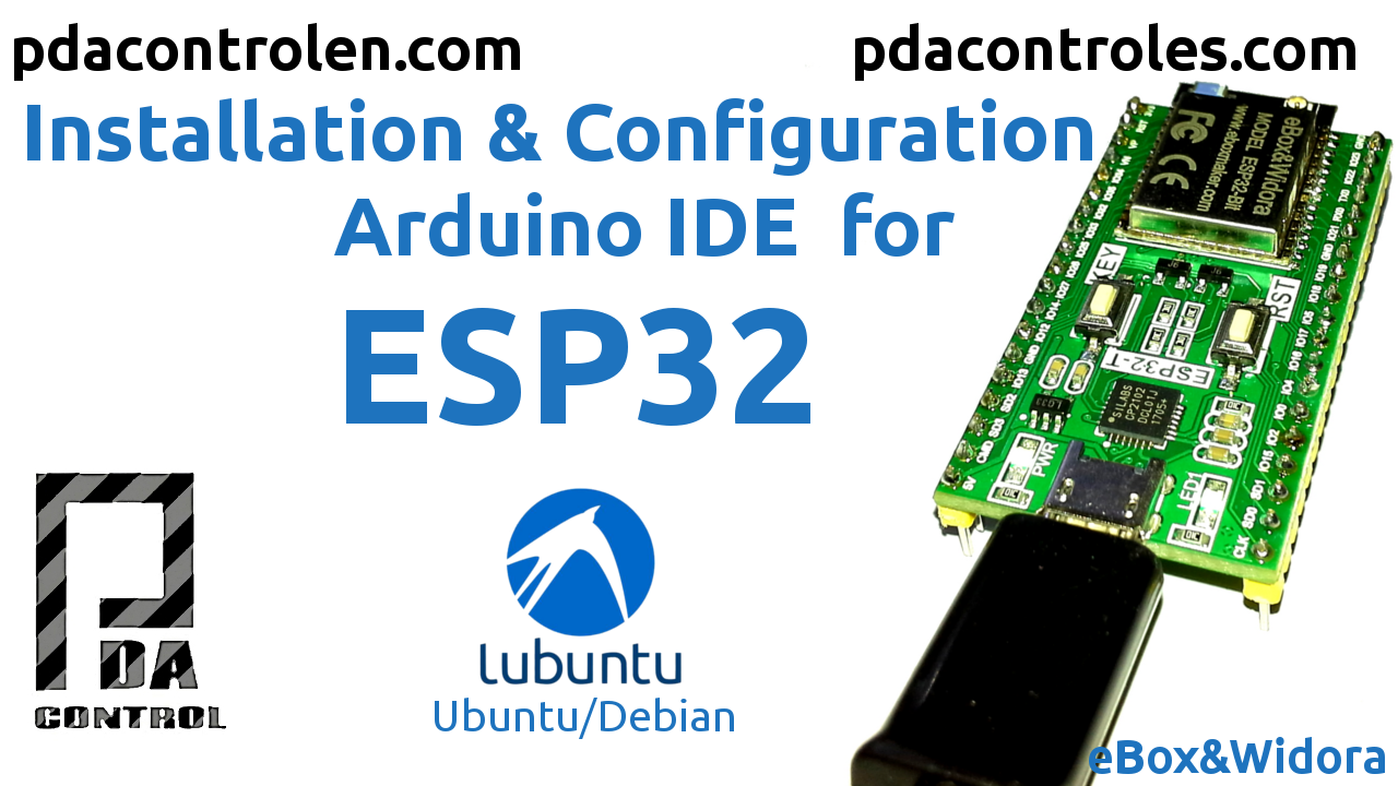 Arduino IDE for ESP32 modules
