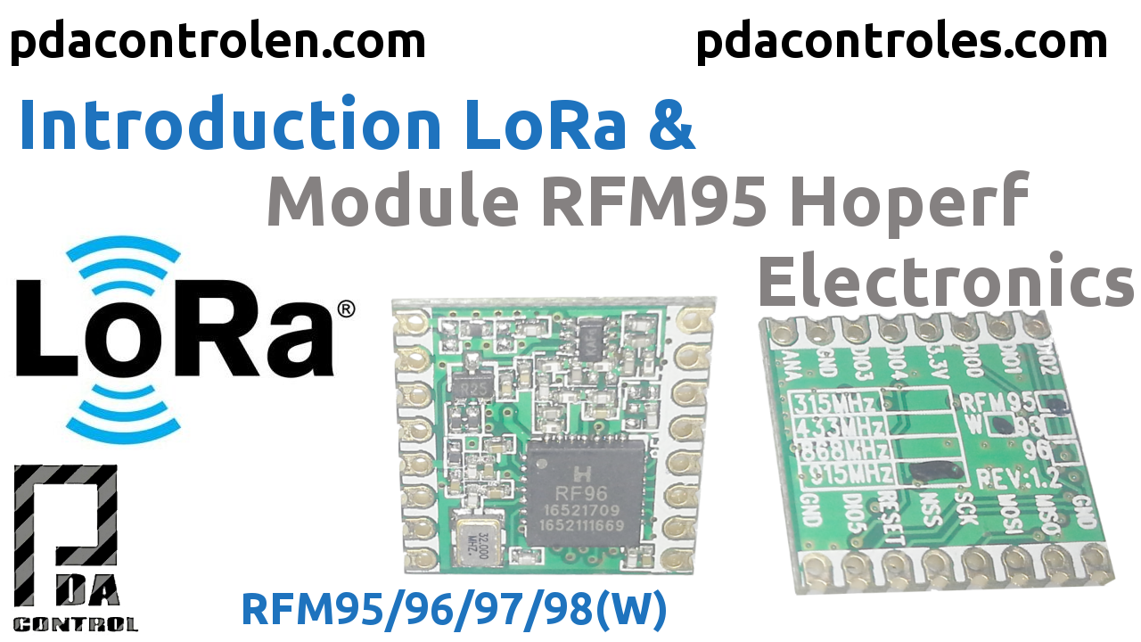 Introduction LoRa & Module RFM95 Hoperf