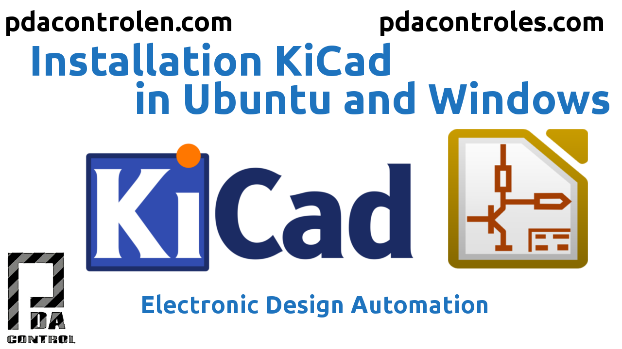 Installation KiCad  in Ubuntu and Windows