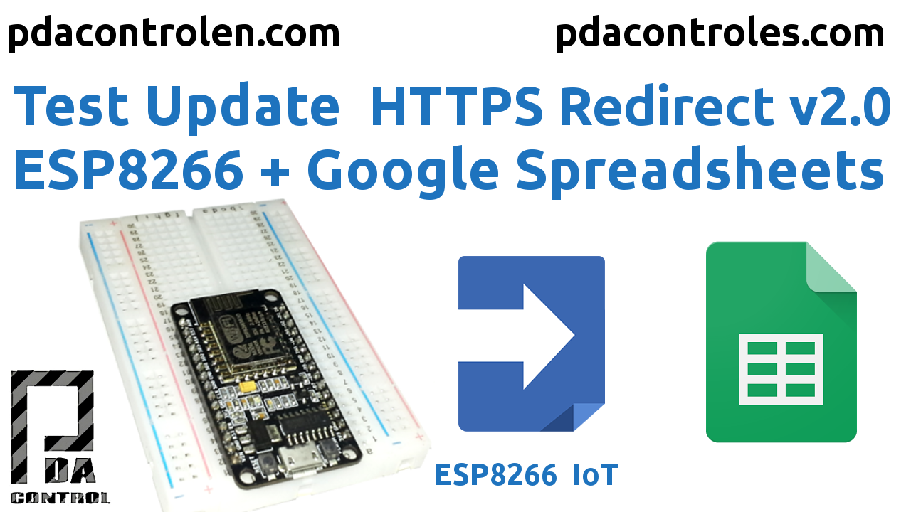 Update HTTPS Redirect Version 2.0 ESP8266 & Google Spreadsheets