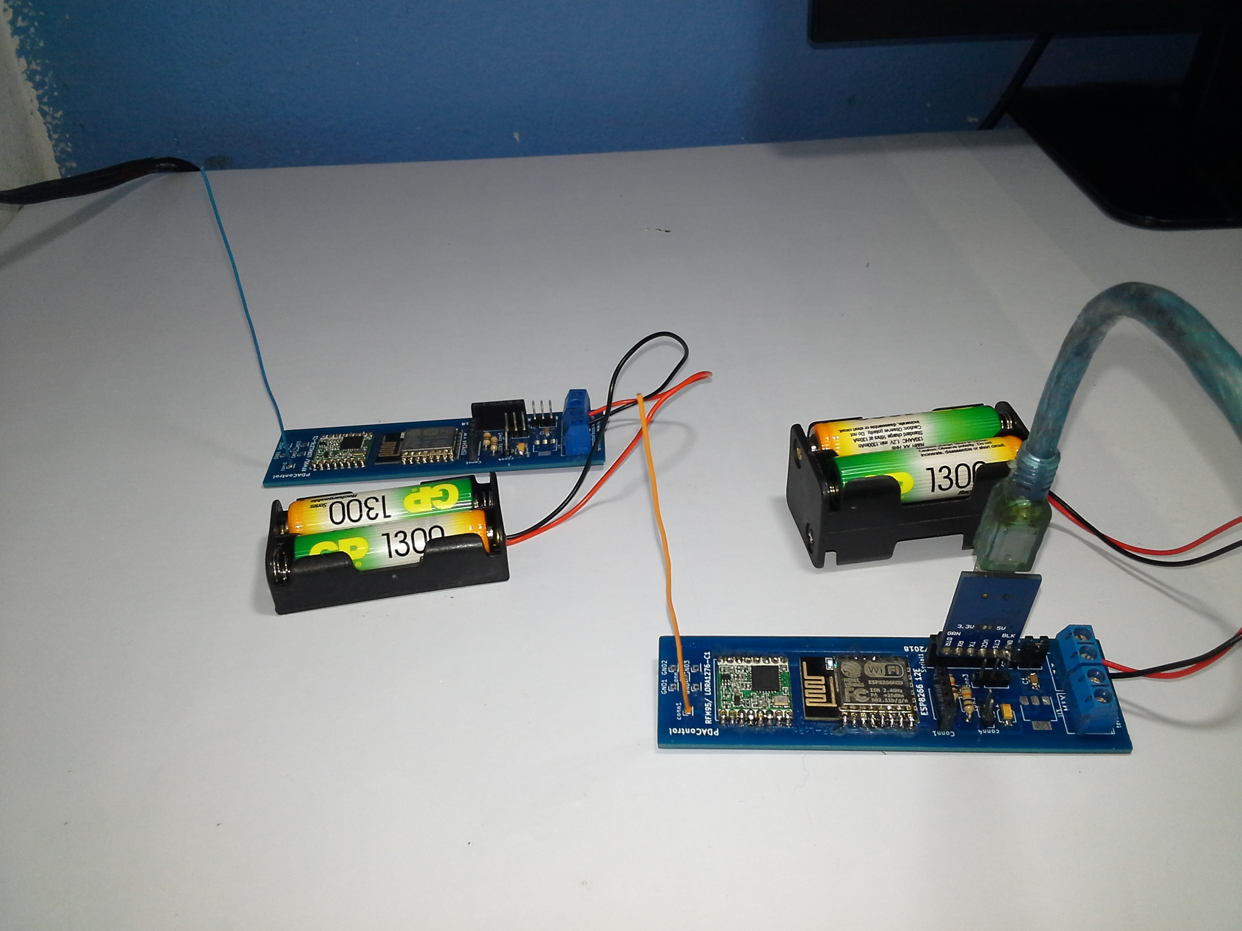 Communication LoRa ESP8266 & Radio RFM95 #1 - PDAControl