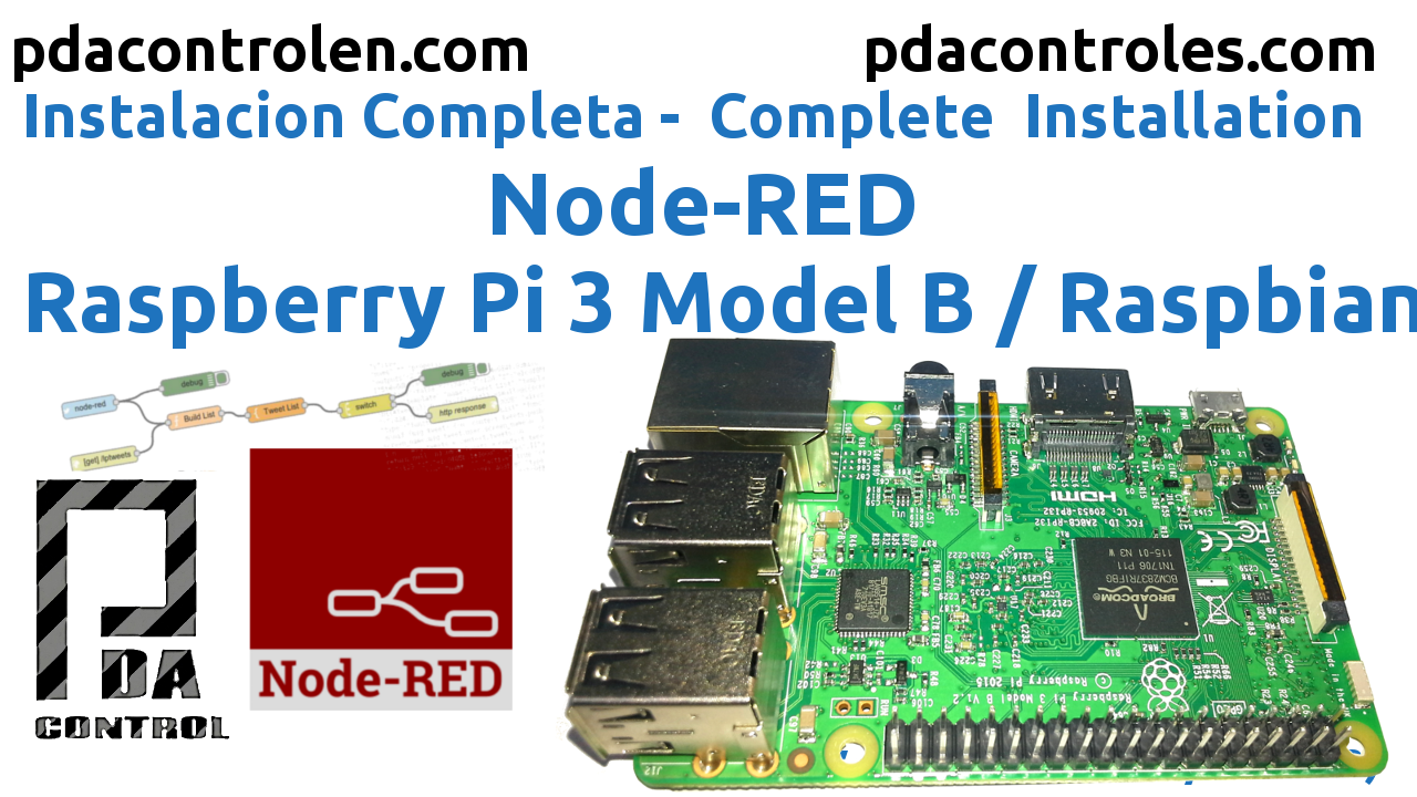 Complete Installation Node-RED in Raspberry Pi