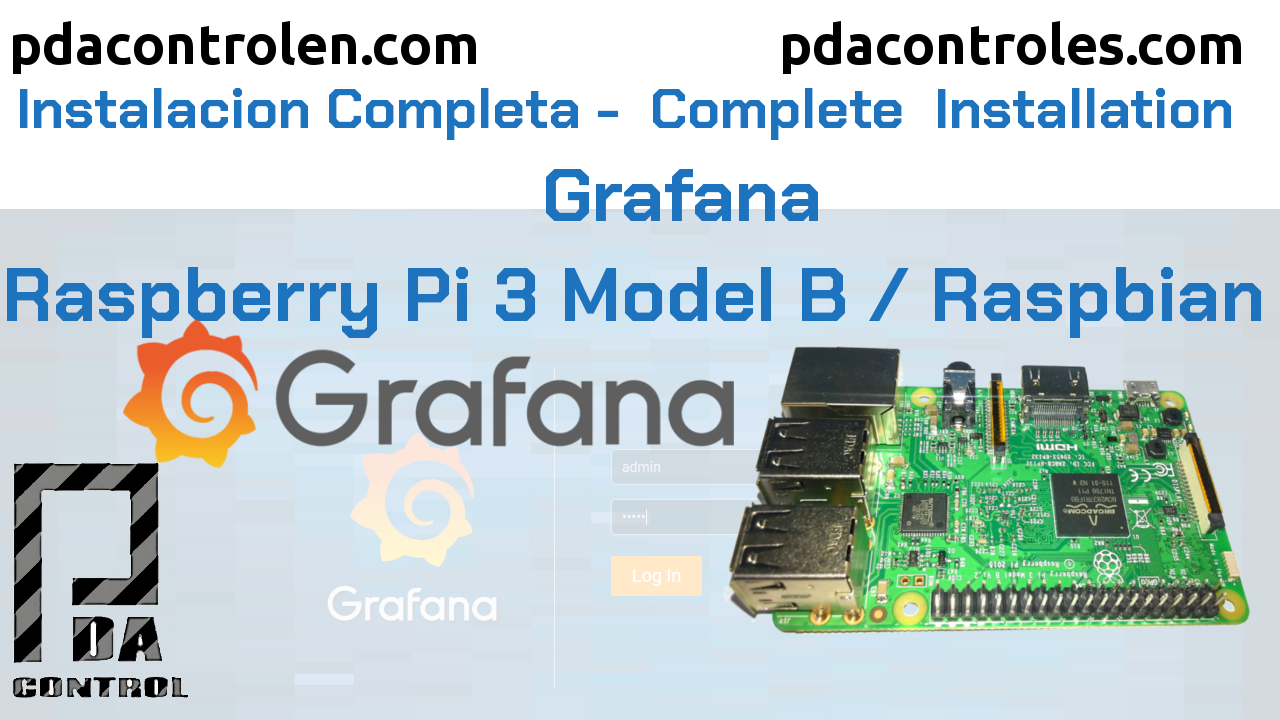 Complete installation Grafana Dashboard in Raspberry Pi 3 B / B +
