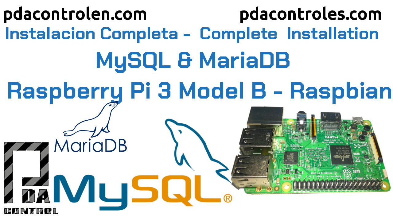 Complete installation Database MySQL & MariaDB in Raspberry Pi 3 B / B +