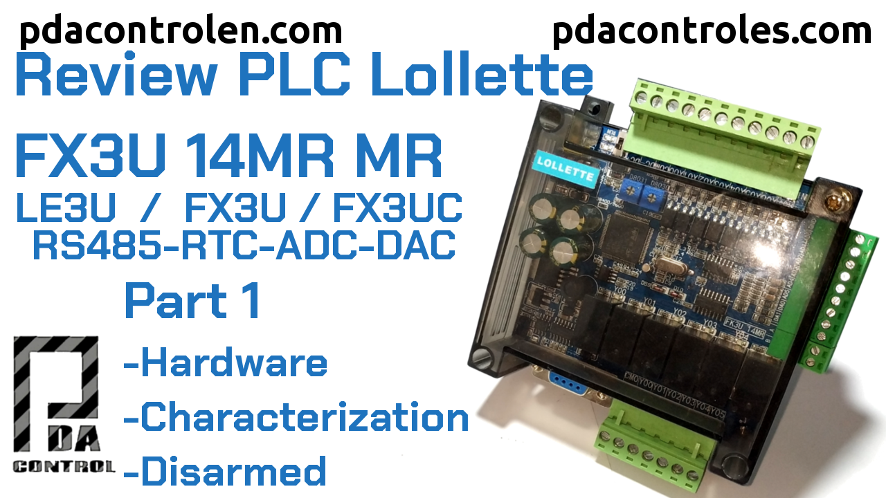 Revision Hardware PLC Lollette FX3U 14MR / LE3U / FX3U / FX3UC Part 1