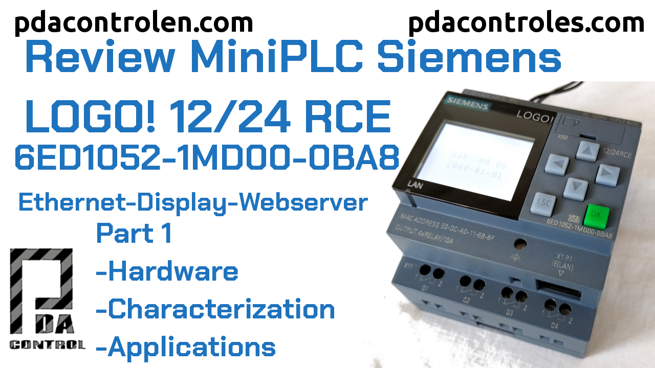 Review  LOGO!  8 12/24 RCE – (0BA8)  Ethernet of Siemens