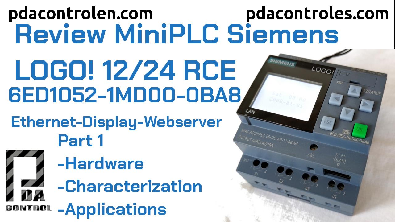 Review  LOGO!  8 12/24 RCE – (0BA8)  Ethernet of Siemens