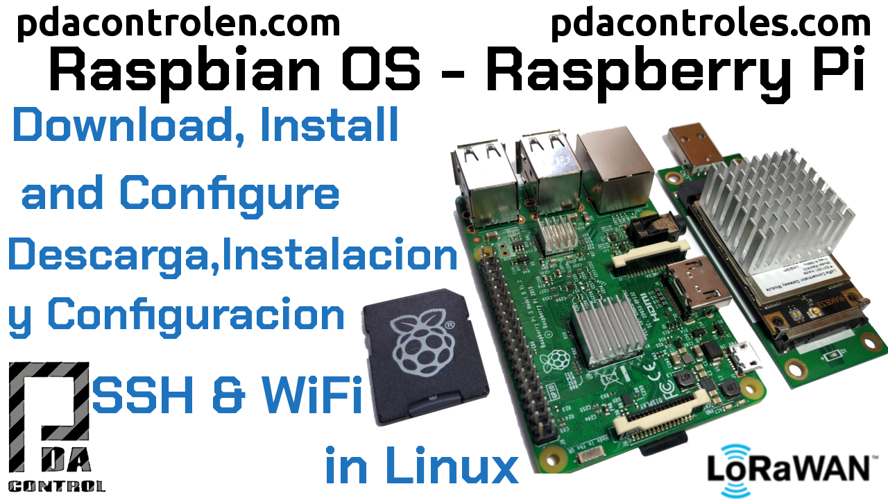 Download, Install and Configure Raspbian OS on Raspberry Pi without Desktop (in linux)