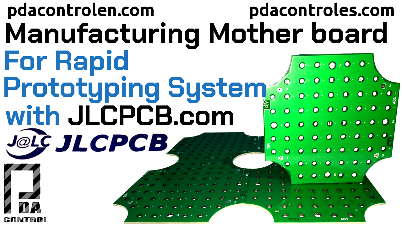Making Motherboard, Rapid Prototyping with JLCPCB.com