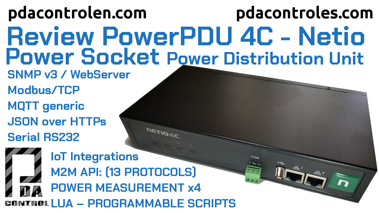 Review PowerPDU 4C (Power Socket)  Netio