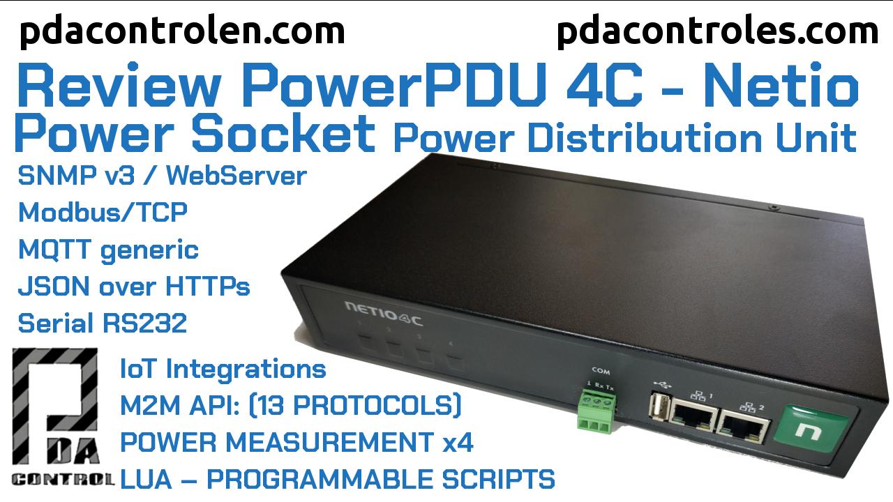 Review PowerPDU 4C (Power Socket)  Netio