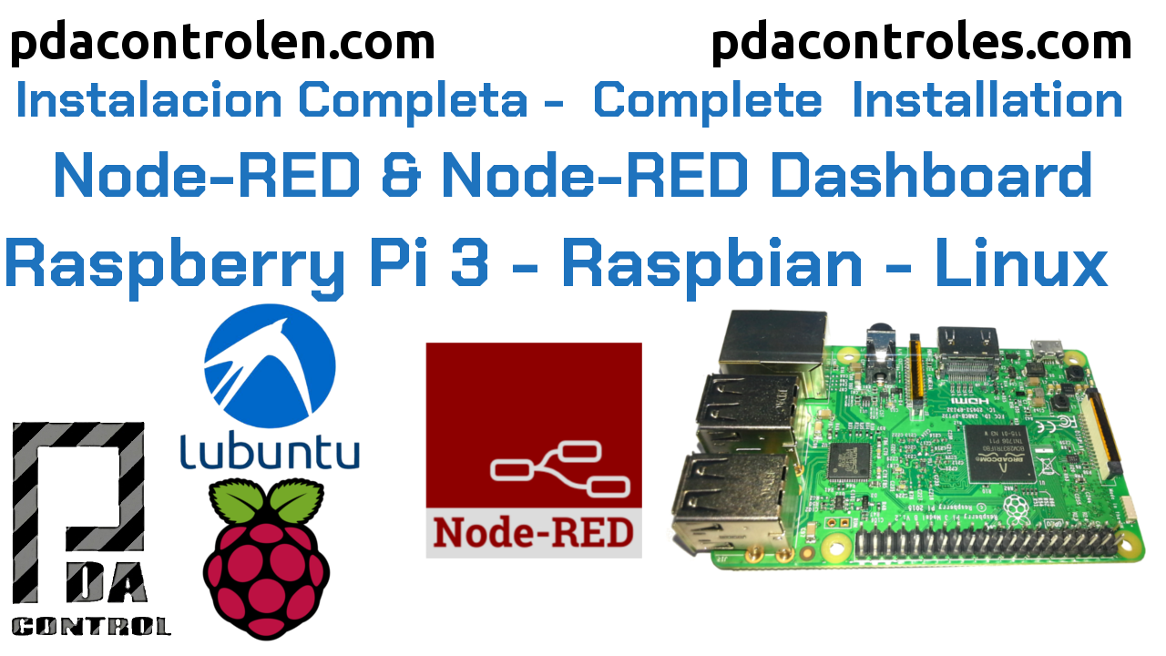 Easy Installation of Node-RED on Raspbian and Linux OS