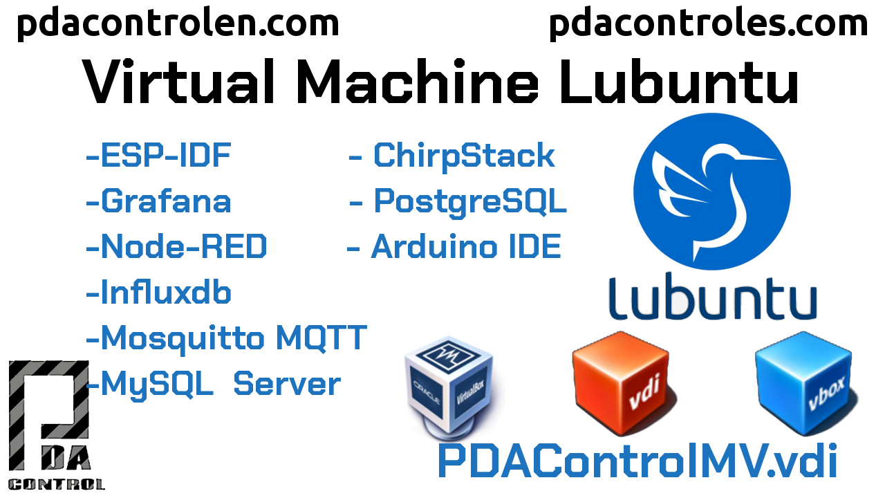 PDAControlMV IoT Virtual Machine